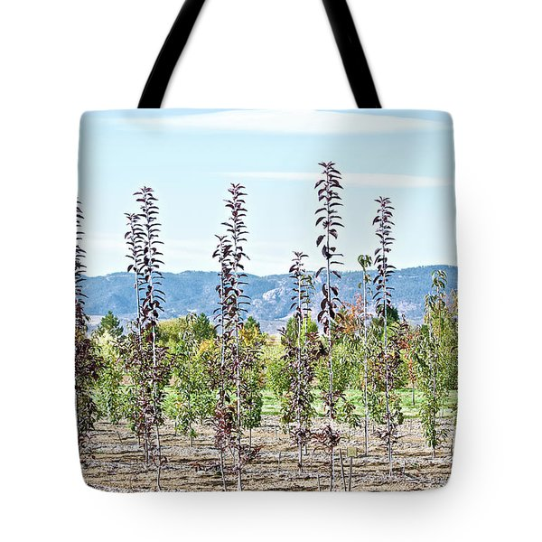 Life On A Tree Farm-foothills View #1 Tote Bag
