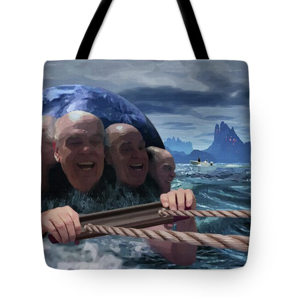 Life On Another Planet Tote Bag