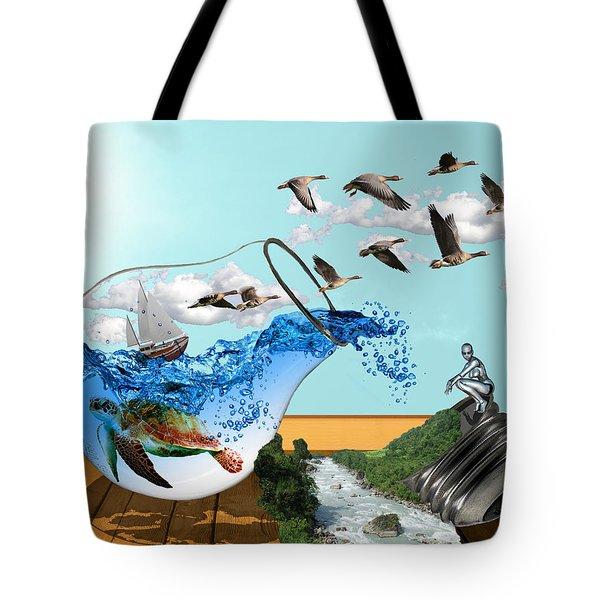 Life On Earth Tote Bag