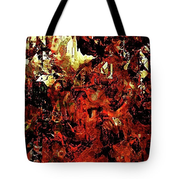 Life On Mars Tote Bag by The Art Of JudiLynn