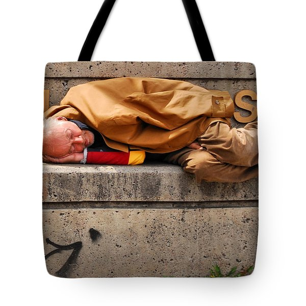 Life On The Street Tote Bag by Andrea Kollo