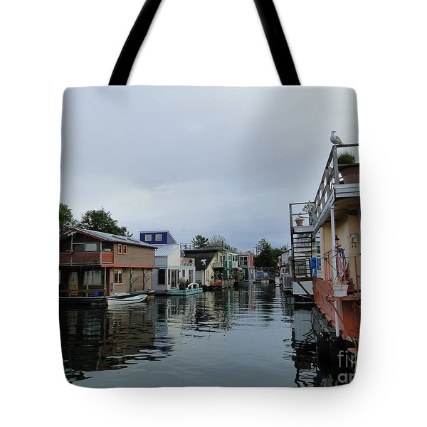 Life On The Water Tote Bag