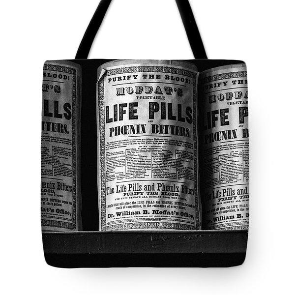 Life Pills Tote Bag