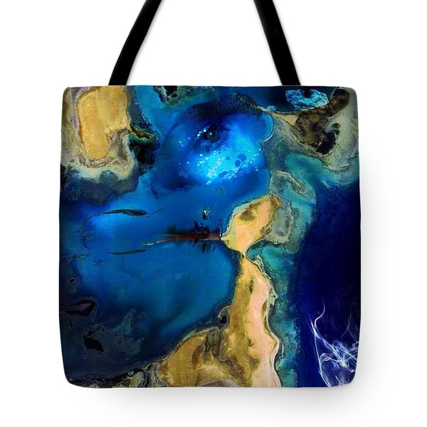 Life Stream Tote Bag