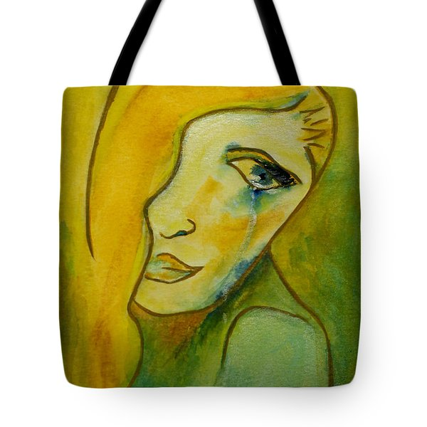 Life Unlived Tote Bag by Donna Blackhall