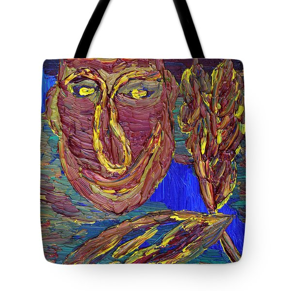 Tote Bag featuring the painting Life Worth Living... by Vadim Levin