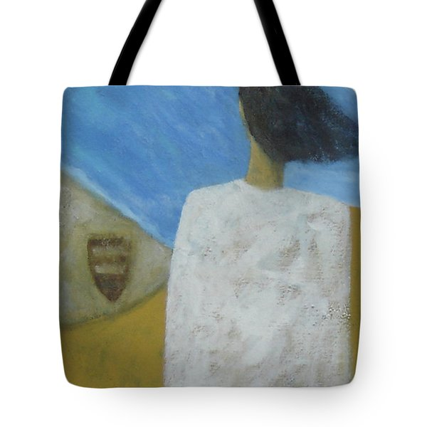 Tote Bag featuring the painting Lifeboat by Glenn Quist