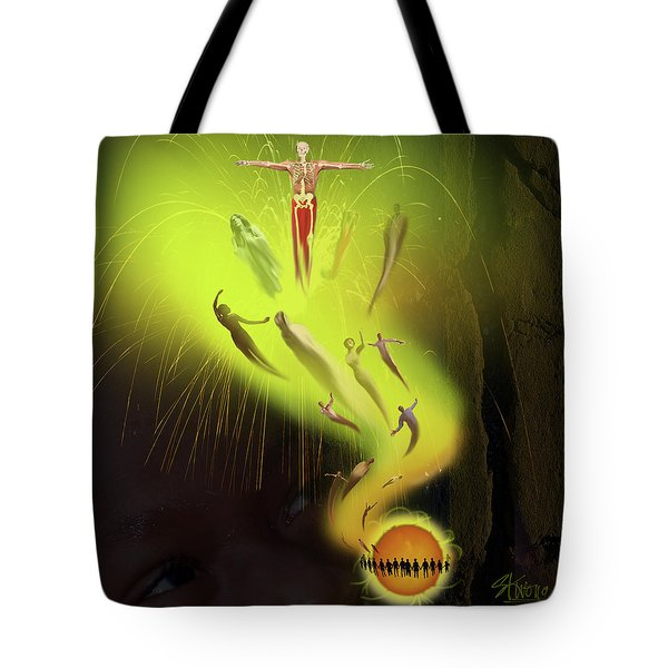 Lifedeath Tote Bag