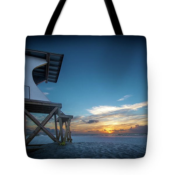 Tote Bag featuring the photograph Lifeguard by Brian Jones