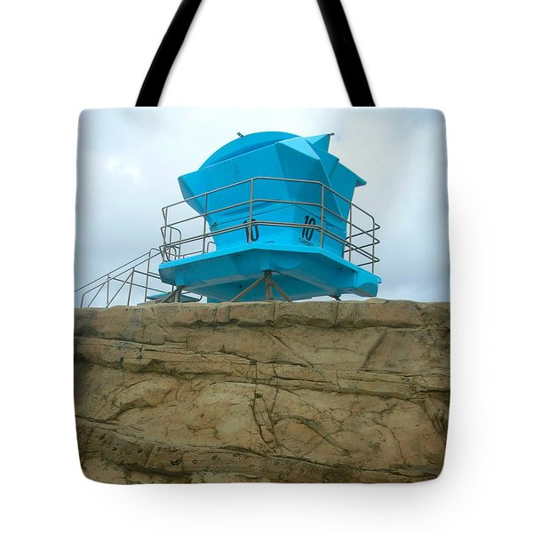 Lifeguard Lookout Tote Bag