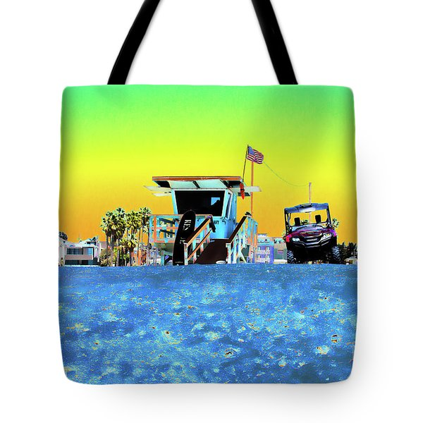 Lifeguard Tower 1 Tote Bag