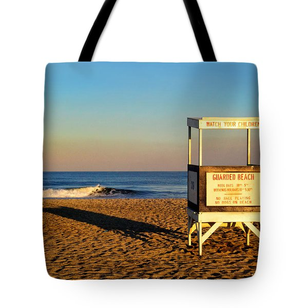 Lifeguard Stand At Ocean City Nj Tote Bag