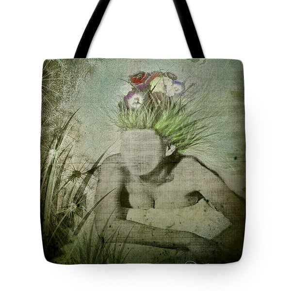 Tote Bag featuring the digital art Life's A Beach by Delight Worthyn