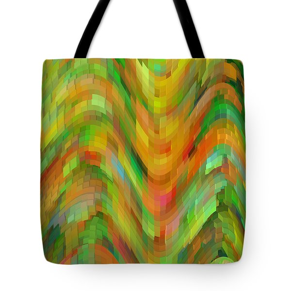Life's A Rollercoaster Tote Bag by Bonnie Bruno
