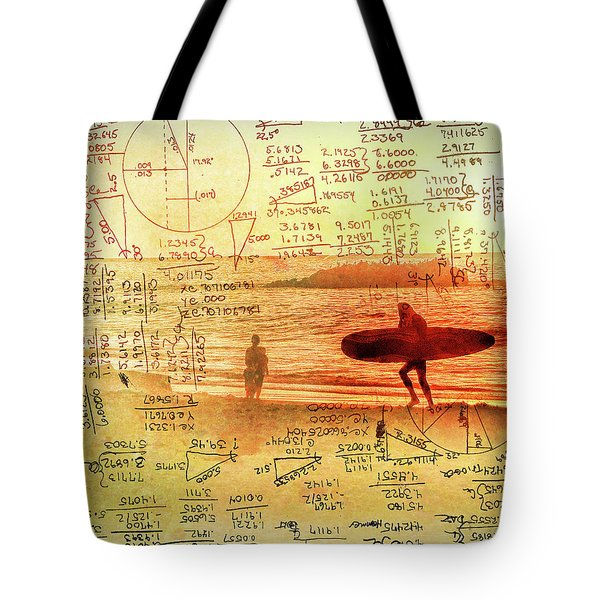 Life's Crossing Tote Bag by Charles Ables
