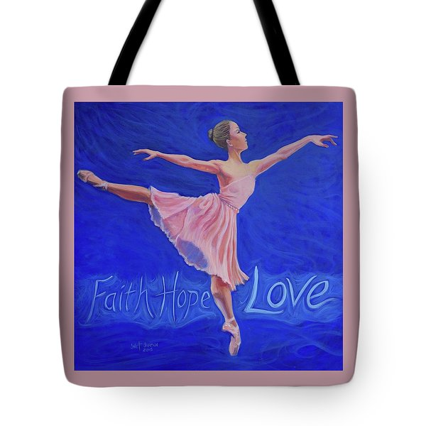 Tote Bag featuring the painting Life's Dance by Jeanette Jarmon