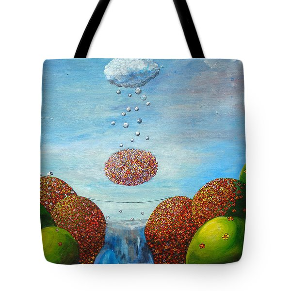 Life's Path Tote Bag by Mindy Huntress