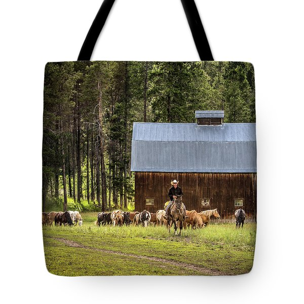 Tote Bag featuring the photograph Lifestyle by Mary Hone