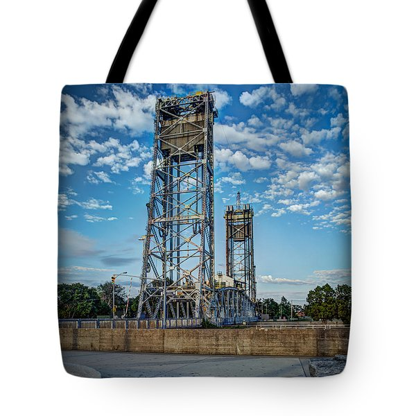 Lift Bridge Tote Bag