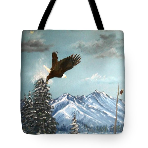 Lift Off Tote Bag