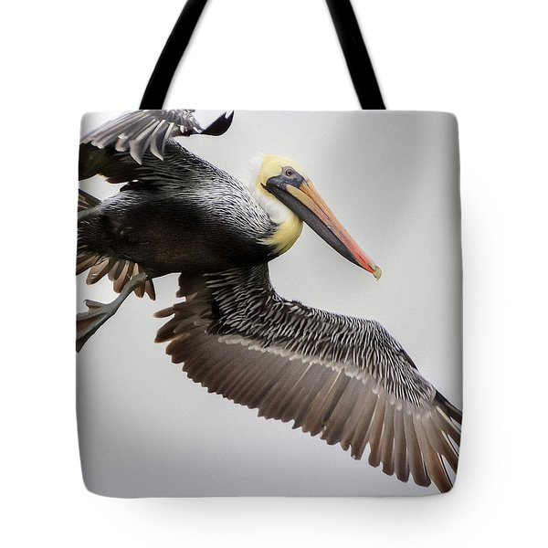 Lift Off Tote Bag by Charlotte Schafer