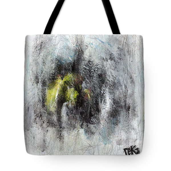 Tote Bag featuring the painting Lift by Rick Baldwin