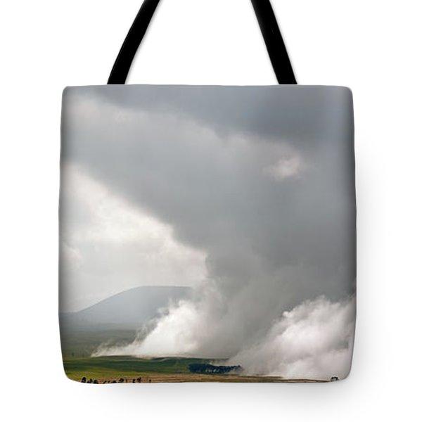 Lifting Fog Tote Bag