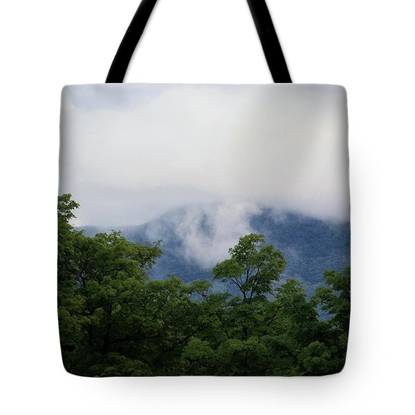 Lifting Storm Tote Bag