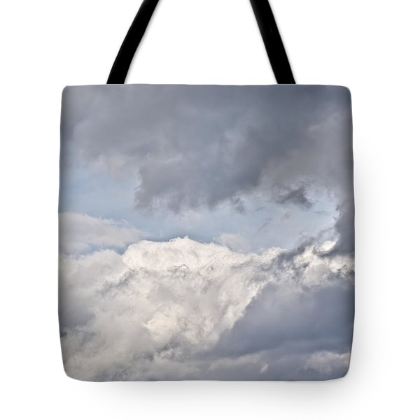 Tote Bag featuring the photograph Light And Heavy by Wanda Krack