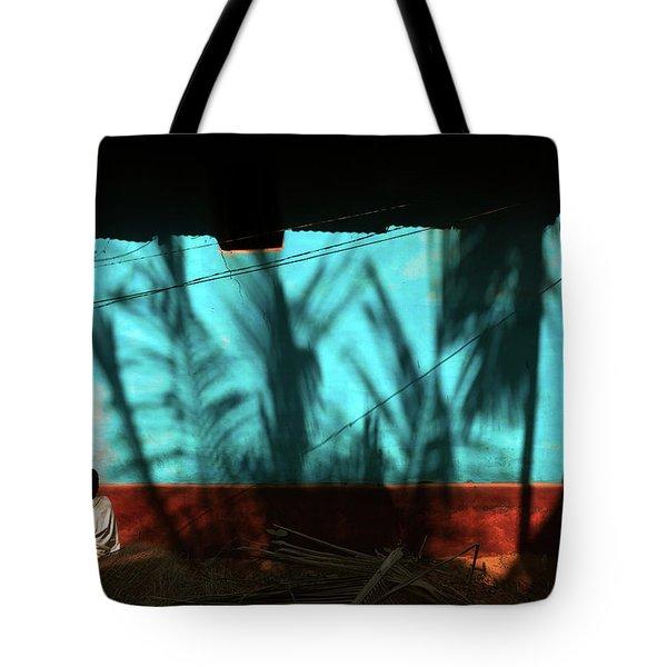 Light And Shadows Tote Bag by Marji Lang