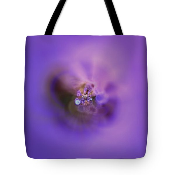 Tote Bag featuring the digital art Light And Sound Abstract by Robert Thalmeier