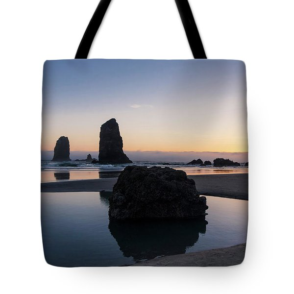 Light And Tide Tote Bag