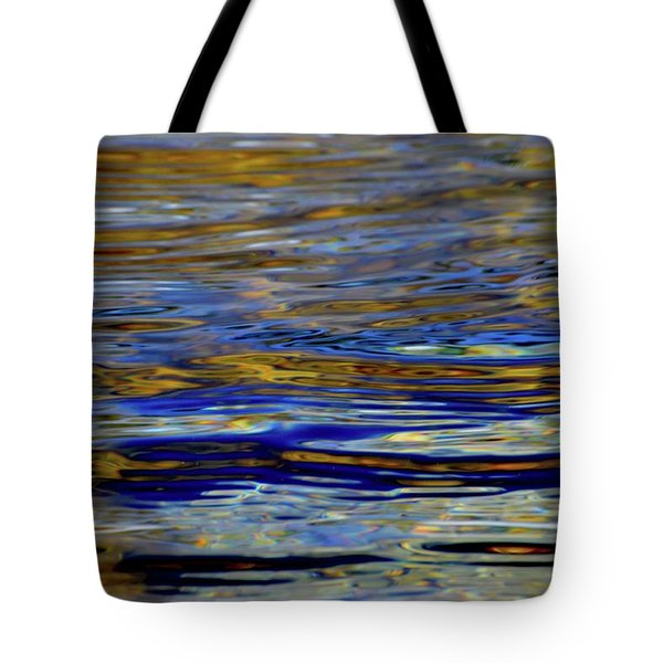 Light And Water  Tote Bag by Lyle Crump