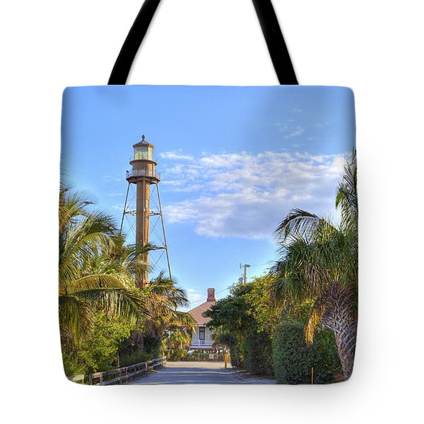 Light At The End Of The Road Tote Bag