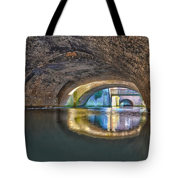 Light At The End Of The Tunnel Tote Bag by Frans Blok