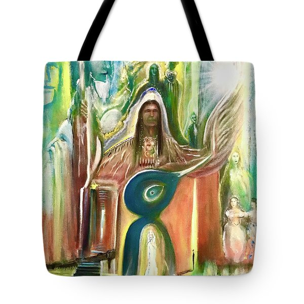 Light And The Awakening  Tote Bag