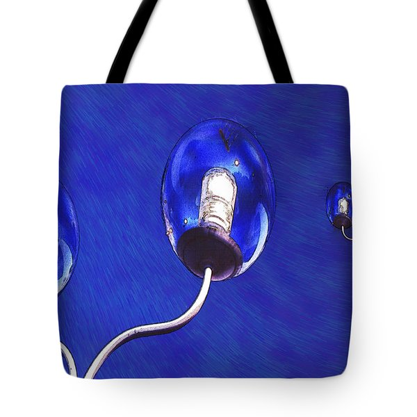Light Balls Tote Bag by Paul Wear