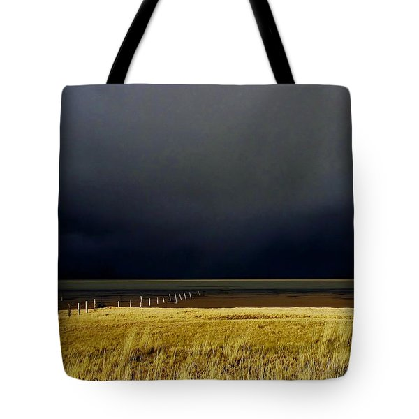 Light Before The Storm Tote Bag by Michele Penner