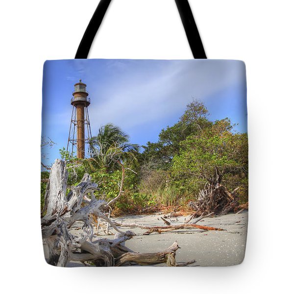 Light Behind The Stump Tote Bag