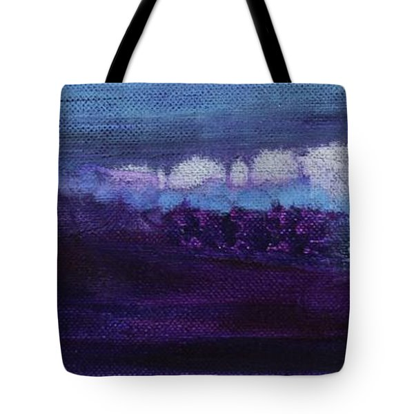 Tote Bag featuring the painting Light Breaks Through by Kim Nelson