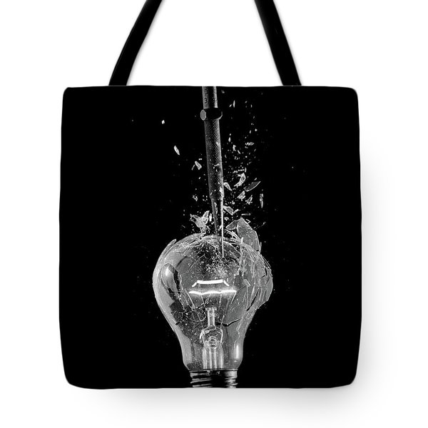 Light Bulb Tote Bag