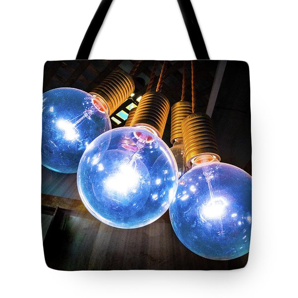 Light Bulbs Tote Bag