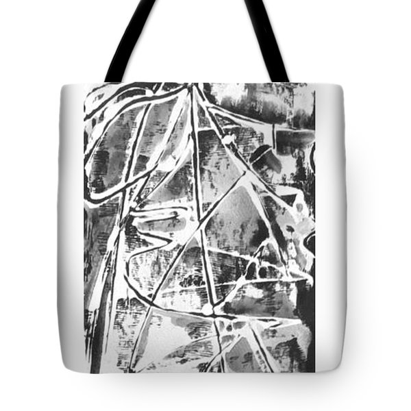 Tote Bag featuring the painting Light by Carol Rashawnna Williams