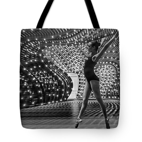 Tote Bag featuring the photograph Light Dance by Alan Raasch