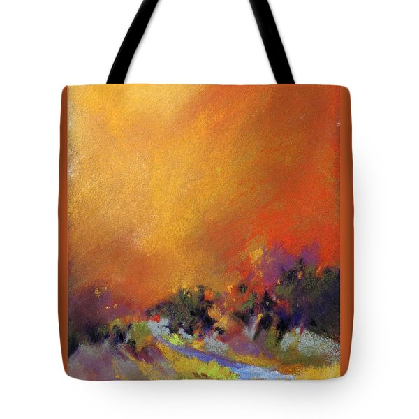 Light Dance Tote Bag
