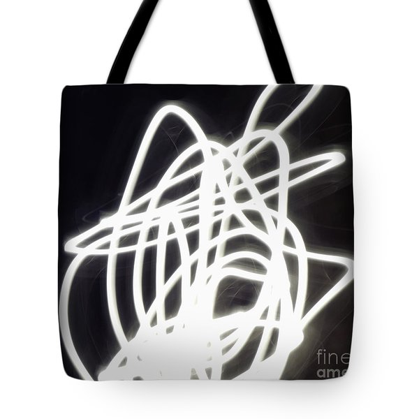 Light Dancer Tote Bag