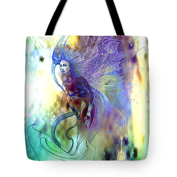 Light Dancer Tote Bag by Ragen Mendenhall