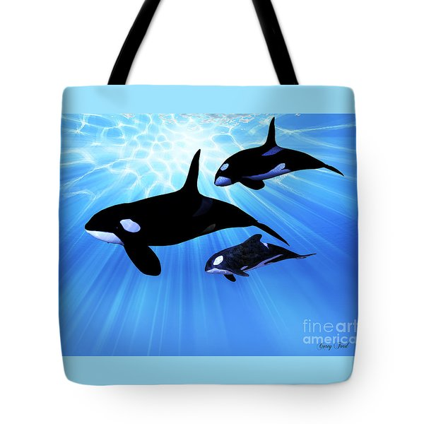 Light Echo Tote Bag by Corey Ford
