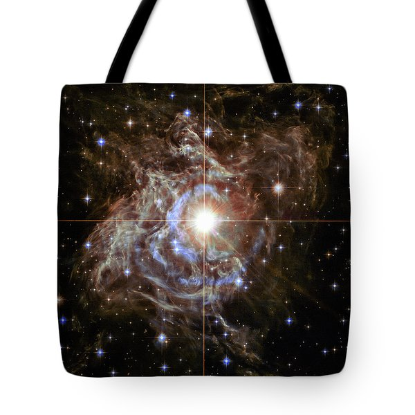Tote Bag featuring the photograph Light Echoes by Marco Oliveira