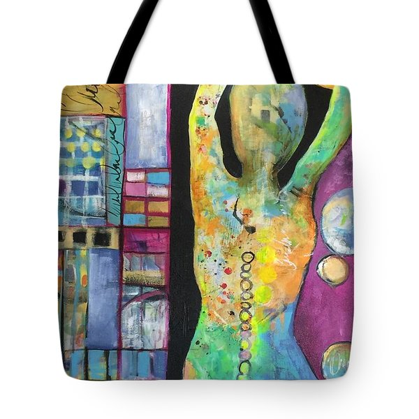 Light Energy Tote Bag